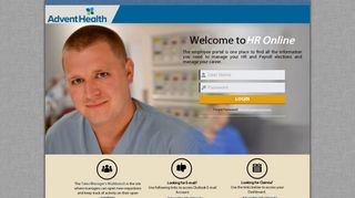 Florida Hospital Fish Memorial Employee Portal