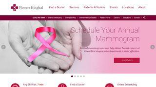 Flowers Hospital Employee Portal