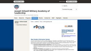 Focus Online Portal