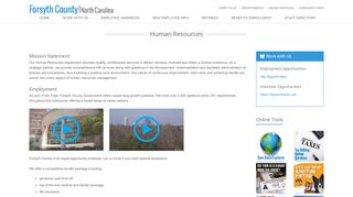 Forsyth County Employee Portal