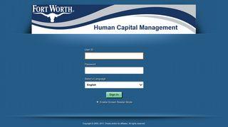 Fort Worth Employee Portal