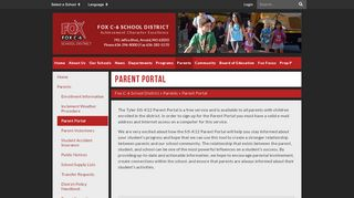 Fox C6 Parent Portal