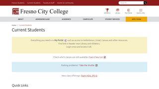 Fresno City College Portal