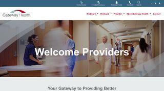 Gateway Medicare Provider Portal