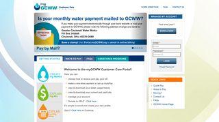 Gcww Customer Care Portal
