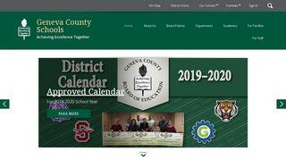 Geneva County Parent Portal
