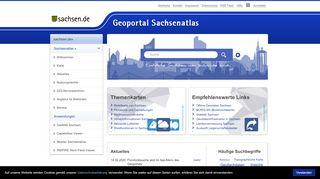 Geo Portal Sachsen