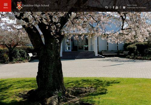 Geraldine High School Portal