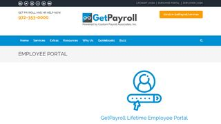 Getpayroll Employee Portal