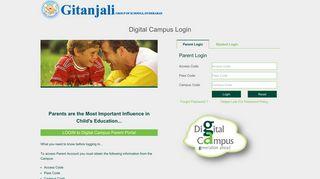 Gitanjali School Parent Portal