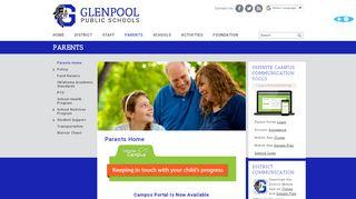 Glenpool Public Schools Parent Portal