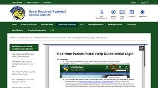 Gmrsd Parent Portal