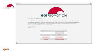 Go Promotion Portal