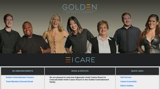 Golden Entertainment Employee Portal