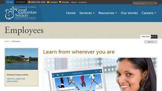 Good Samaritan Society Employee Portal