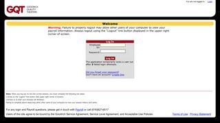 Goodrich Employee Portal