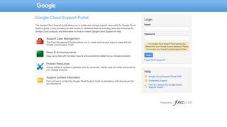 Google Customer Portal