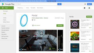 Google Play Portal