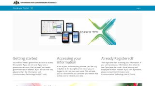 Government Of Dominica Employee Portal