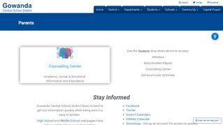 Gowanda Parent Portal