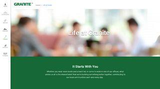 Granite Construction Employee Portal