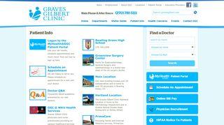 Graves Gilbert Patient Portal