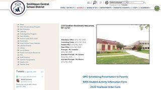 Great Hollow Middle School Parent Portal