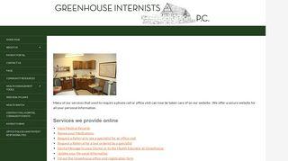 Greenhouse Internists Patient Portal