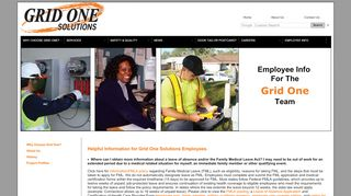 Grid One Solutions Employee Portal