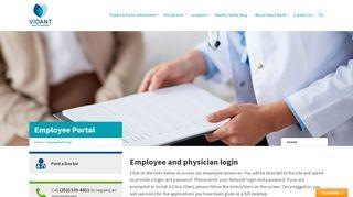 Halifax Regional Medical Center Employee Portal