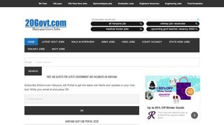 Haryana Job Portal