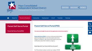 Hays Parent Portal