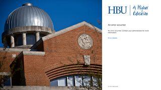 Hbu Email Portal