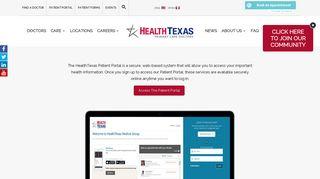 Health Texas Patient Portal