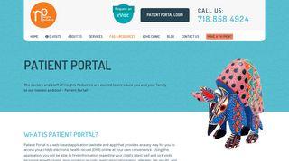 Heights Pediatrics Patient Portal