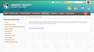 Hendry Schools Portal
