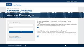 Hid Partner Portal