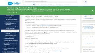 High Volume Customer Portal