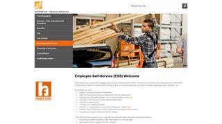 Home Depot Employee Portal