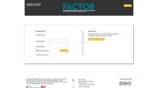 Http Portal Factor Ca