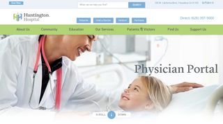 Huntington Hospital Physician Portal