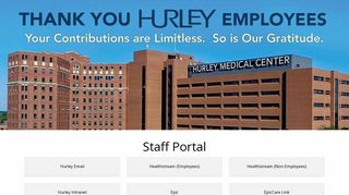 Hurley Staff Portal