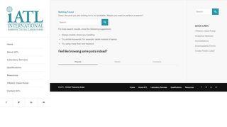 Iatl Client Portal
