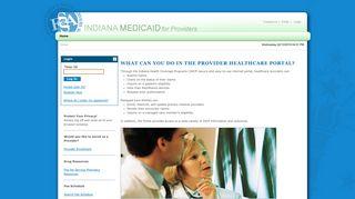Indiana Medicaid Provider Portal