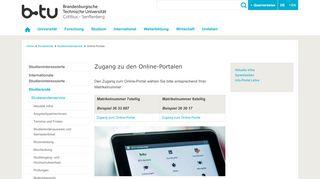 Info Portal Lehre