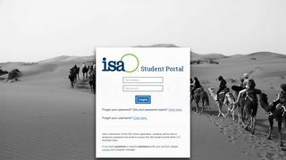 International Studies Abroad Portal