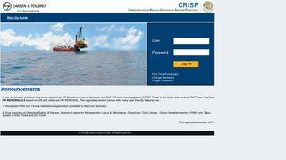 Internet Https Crisp Larsentoubro Com Irj Portal