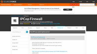Ipcop Captive Portal