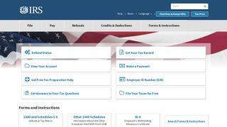 Irs Web Portal