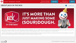 Jack In The Box Application Portal